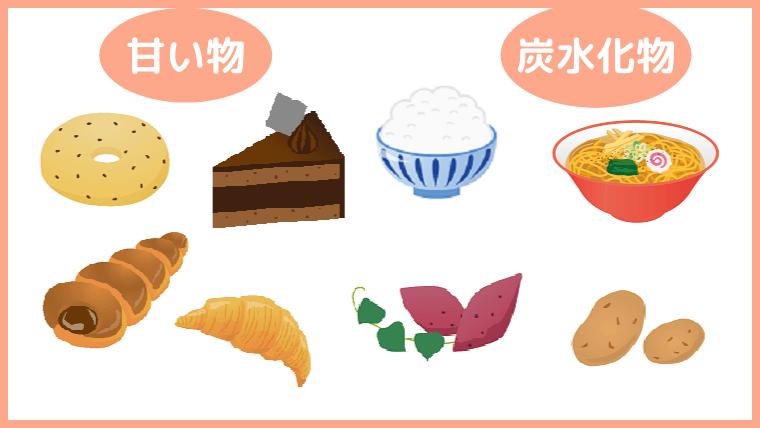 糖質の多い食べ物
